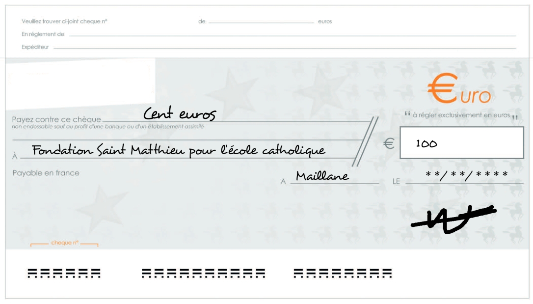 Cheque100