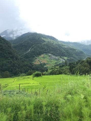 Vue sur Gongkhar